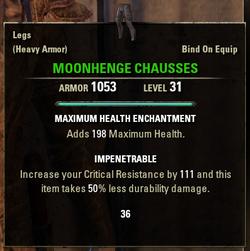 Moonhenge Chausses