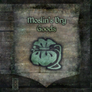 TESIV Sign Moslins Dry Goods