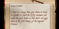 Andre's Letter