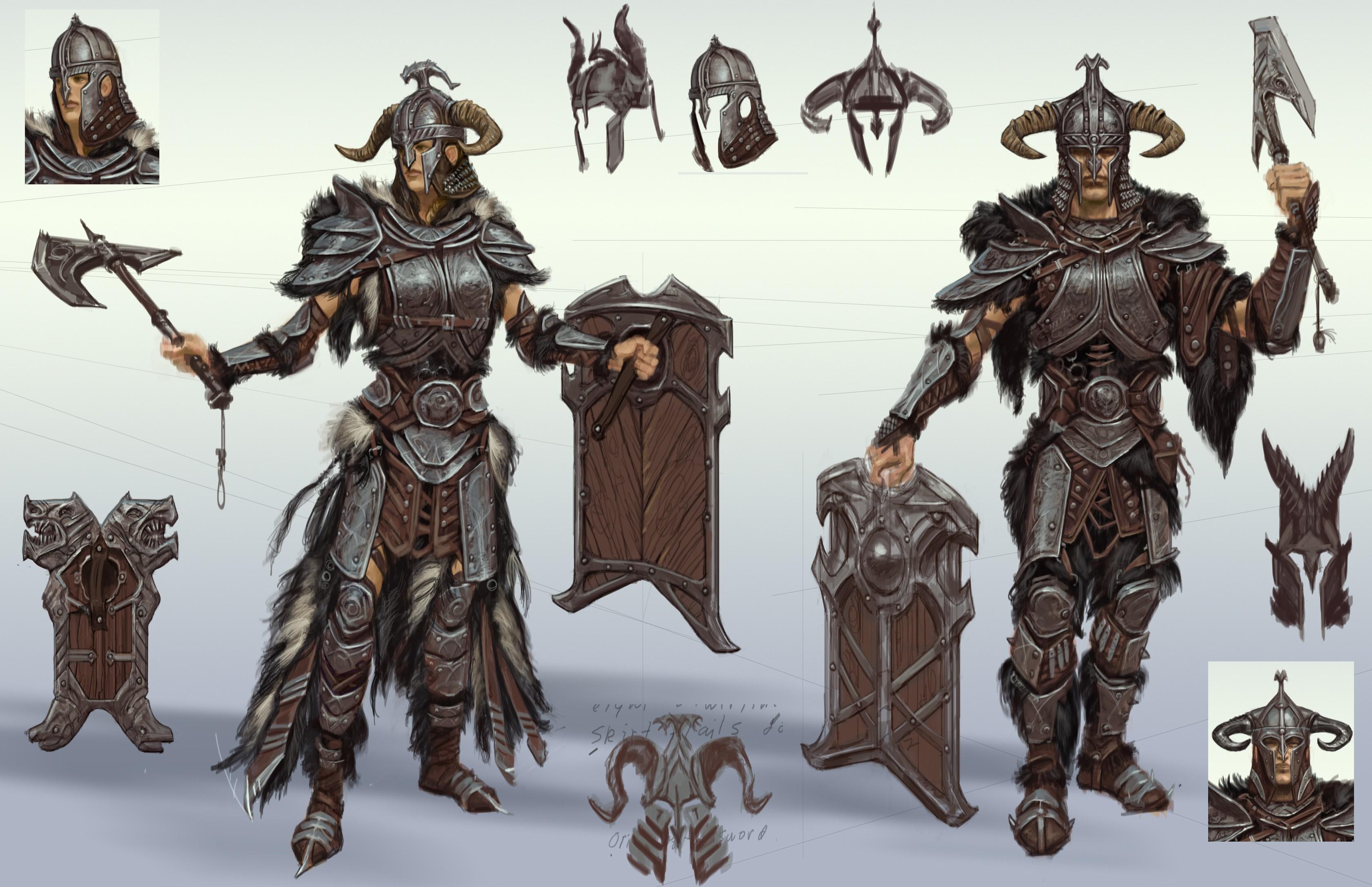 Nord Armors Elder Scrolls Online