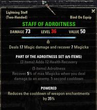 Adroitness - Staff of Adroitness 36