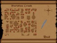 Portdun Creek view full map