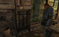 The Elven Maiden Lex Finding Statue