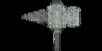 Durable Silver Warhammer