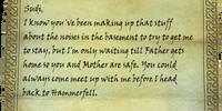 Mani's Letter