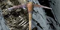 Notched Pickaxe