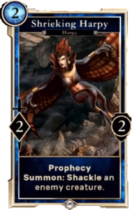 Shrieking Harpy (Legends)
