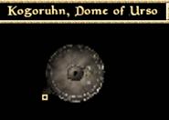 Kogoruhn, Dome of Urso - Interior Map - Morrowind