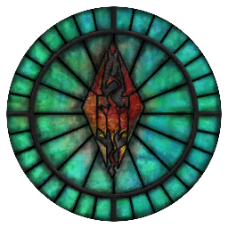 Talos Stained Glass Circle
