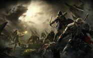 Heroes vs Undead Werewolves