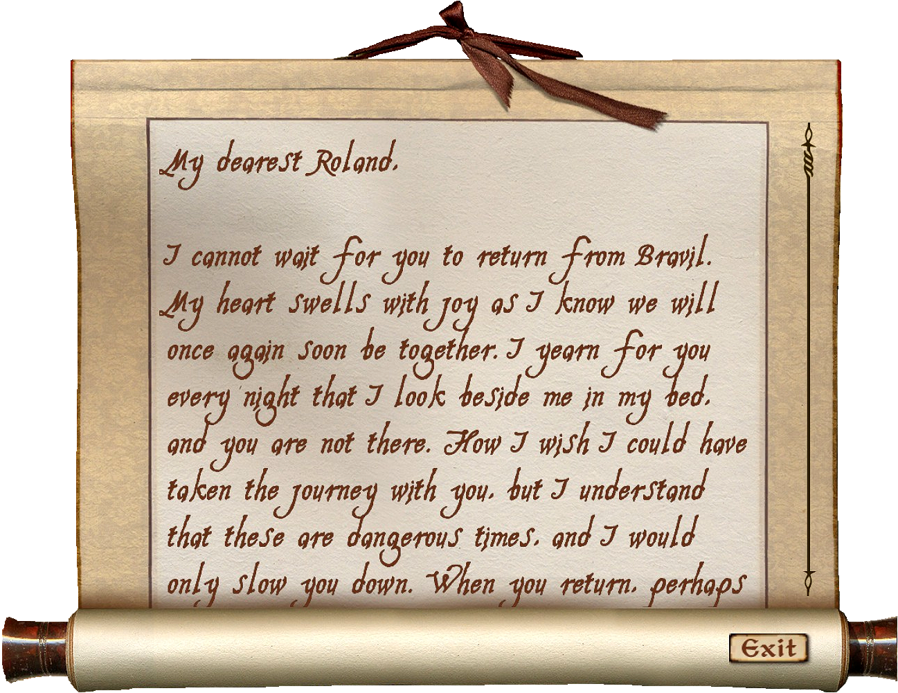 Love Letter from Relfina Elder Scrolls – Love Letters