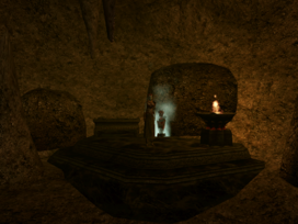 Mamaea, Shrine of Pitted Dreams Interior - Morrowind
