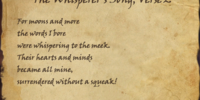 The Whisperer's Song, Verse 2