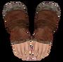 Fur Gauntlets (Oblivion) Female