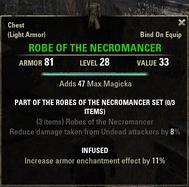 Robes of the Necromancer - Robe 28