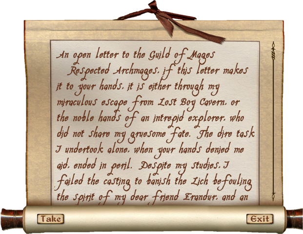 File:Letters to the Guild of Mages Letter One.png