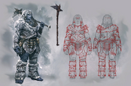 Female Giant Concept Art