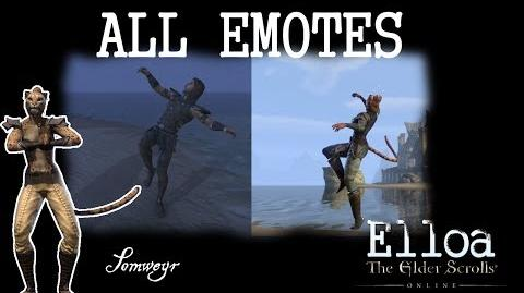 ESO - All Emotes