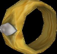 Gold Diamond Ring O