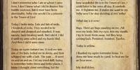 A Prisoner's Journal