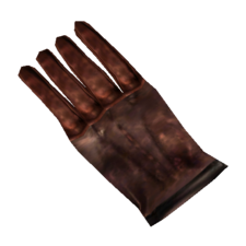 TES3 Morrowind - Glove - Common Left Glove