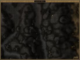 Airan's Teeth Local Map Morrowind