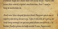 Kireth's Journal, Page 22