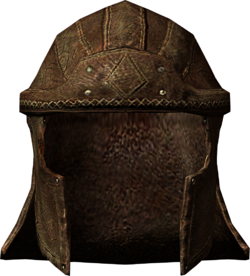 Nosters helmet