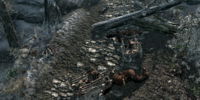 Ambushed Khajiit Caravan