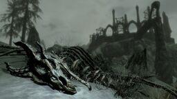 DragonSkeleton Dragonborn Screen