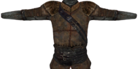 Rough Leather Cuirass