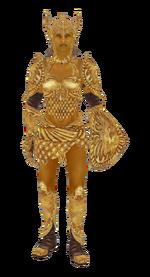 GoldenSaintArmor