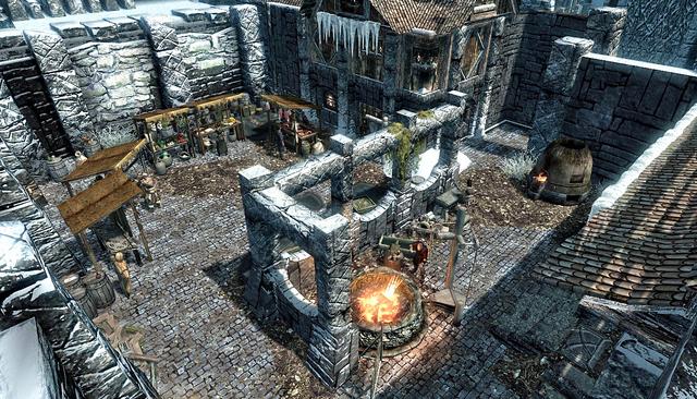 File:Windhelm Skyrim Market.png