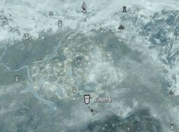 Skyrim map Mistwatch