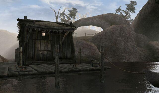 File:TES3 Morrowind - Khuul - Rivame Samandas's Shack exterior.jpg