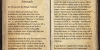 Daedra Dossier: Cold-Flame Atronach