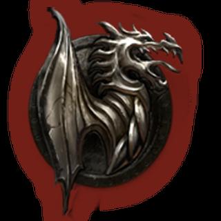 Herb Nordów symbolizujący Smocze Dziecię