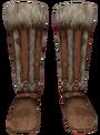Fur Boots (Oblivion) Female