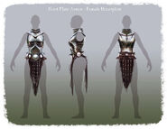 Nord Plate Armor Female Breastplate