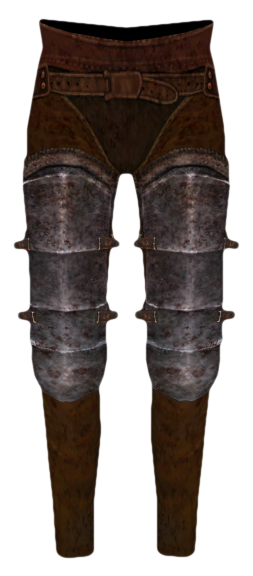 File:Iron Greaves (Oblivion).png