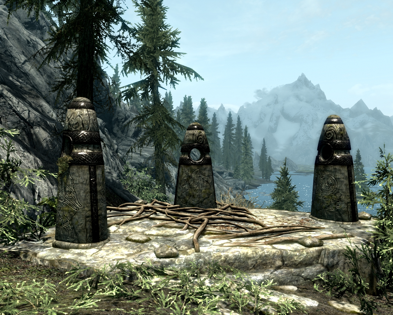 Image result for standing stones skyrim