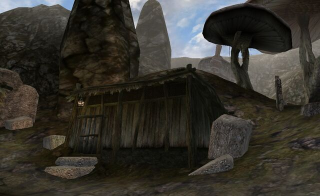 File:TES3 Morrowind - Dagon Fel - Itar the Gentle's House exterior.jpg