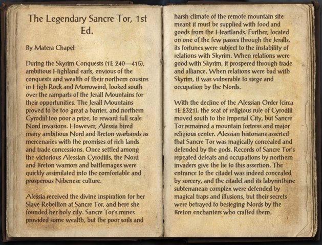 File:The Legendary Sancre Tor, 1st Ed. - 1.png