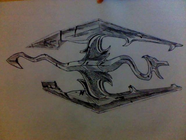 File:The Elder Scrolls logo image drawn.jpg