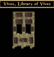 Library of Vivec Interior Map - Morrowind