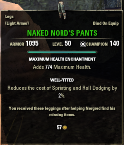 Naked Nords Pants