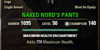 Naked Nord's Pants
