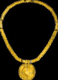 Gold Amulet O