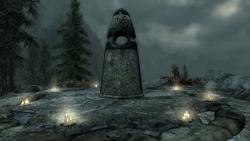 TESV The Ritual Stone