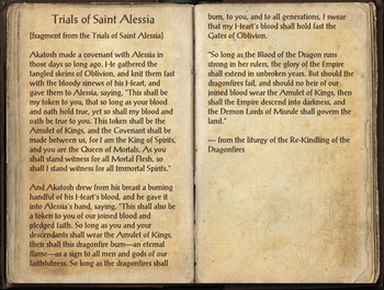 Trials of St. Alessia, as seen in The Elder Scrolls Online